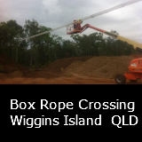 A Box Rope Crossing Wiggins Island